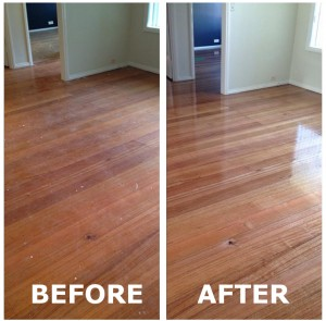 Timber Floor Cleaning Stirling